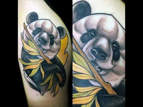 Panda Bear Tattoo Designs Youtube