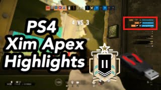Rainbow six siege l my best turn on xim apex 4