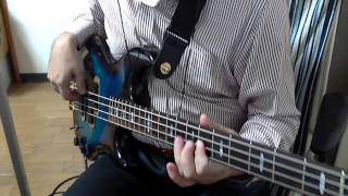 """Casiopea 82""""  全国ツアーファイナル メドレー BASS Cover"""