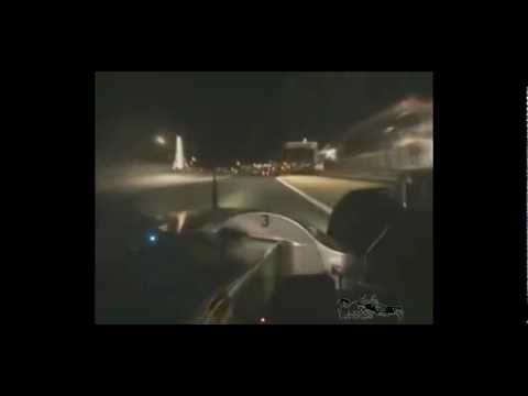 Audi R10 TDI onboard whit pit stop