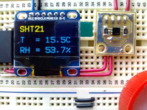 SHT21 Humidity and Temperature Sensor