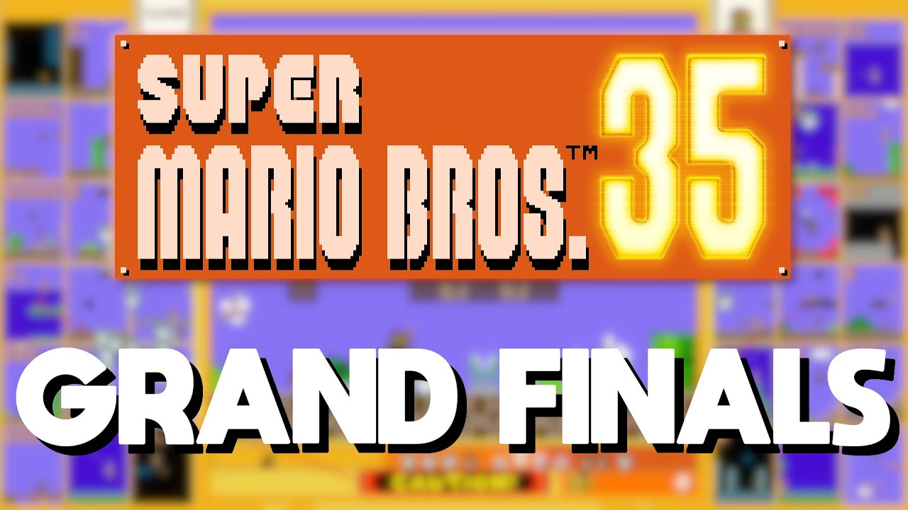 iiPK vs Kawspire   Grand Finals   Super Mario Bros. 35 Speedrun Invitational