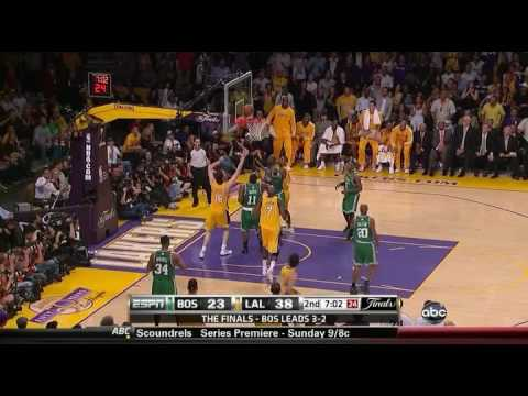 Celtics 67 @ Lakers 89 | 2010 NBA Finals Game 6 | Lakers force Game 7 - YouTube