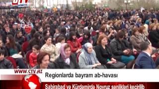Sabirabad və Kürdəmirdə Novruz şənlikləri keçirilib