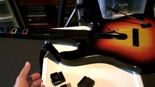 PlayStation 2 Guitar Hero controllers (via adapter) do not function in PlayStation 3 music games