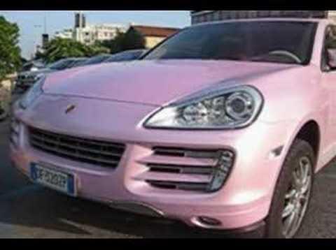 Paris Hilton S Pink Porsche Cayenne Youtube
