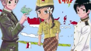 Hetalia MERDEKA Chikyuu (Marukaite Chikyuu Indonesian Version)