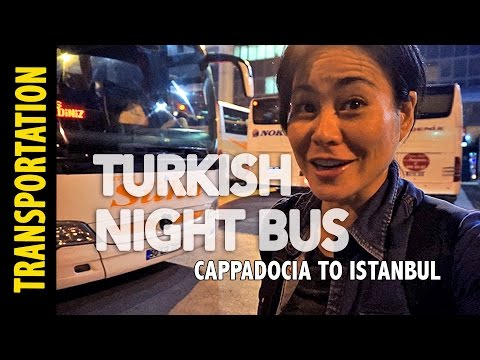 Taking the Turkish Night Bus (& getting lost)