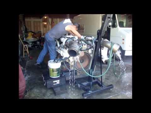 Charter Boat Man V8 Diesel Engine Rebuld