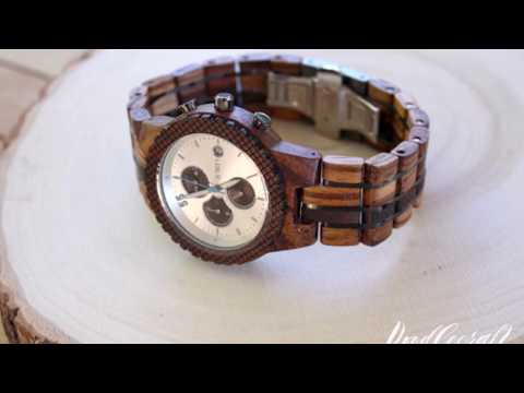 How to Adjust Wooden Watch Band on Jord Watch
