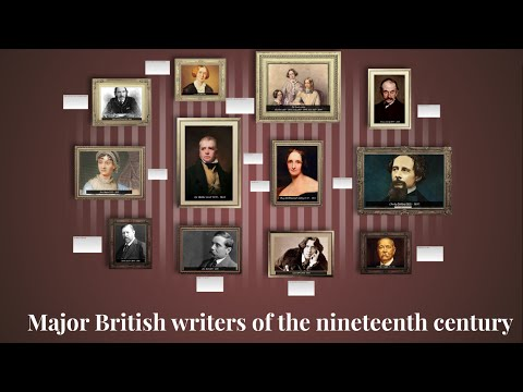 Major British C19th writers