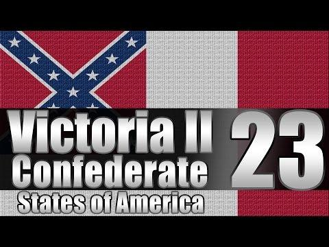 "Victoria 2 CSA  ""Confederate Scandinavia!"" EP:23"