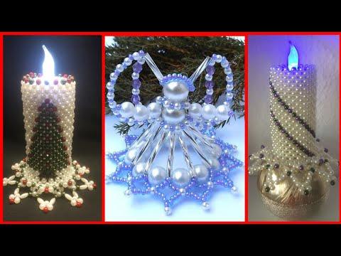 Most beautiful home decor Beaded craft decoration ideas