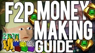 """RuneScape 3: LOW LEVEL F2P MONEYMAKING GUIDE! 1.5M / HOUR! """"Updated""""  2016"""