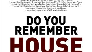Blaze Ft Palmer Brown - Do You Remember House? (Azzido Da Bass Tech Drops)