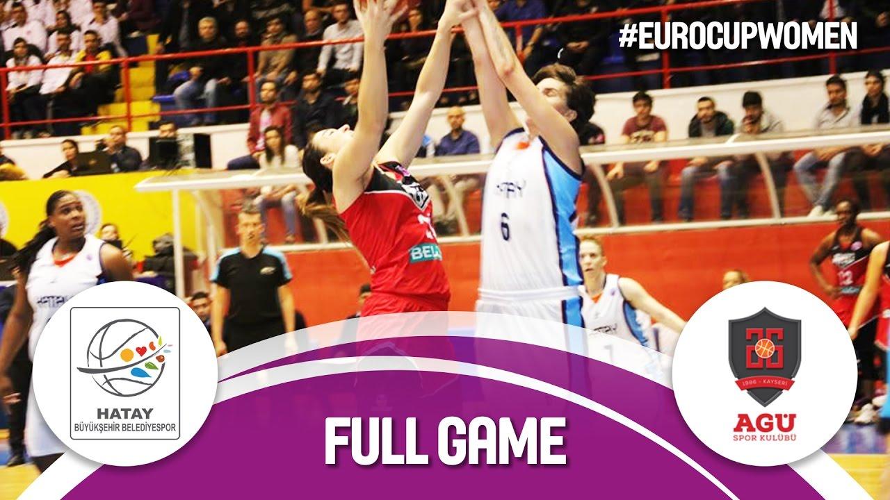 Re-watch: Hatay BB (TUR) v Bellona AGÜ (TUR) - Semi-Final