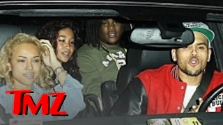 Chris Brown & Rihanna -- Partying Together?