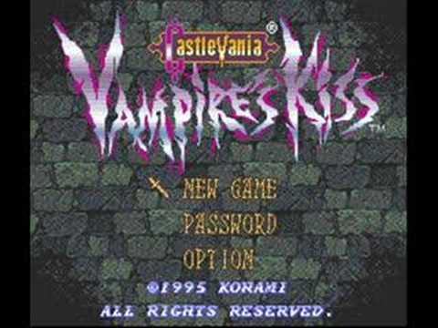 Castlevania Vampires Kiss theme