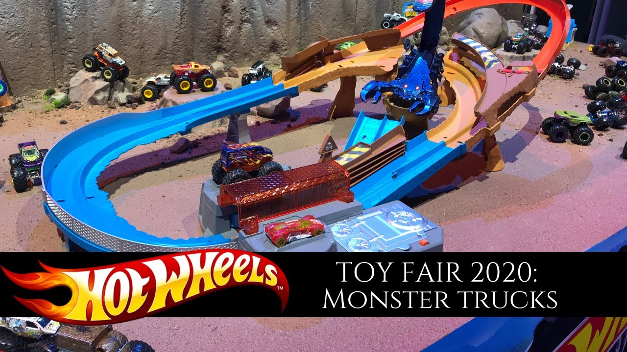 Hot Wheels monster truck - Toy Fair 2020 - YouTube