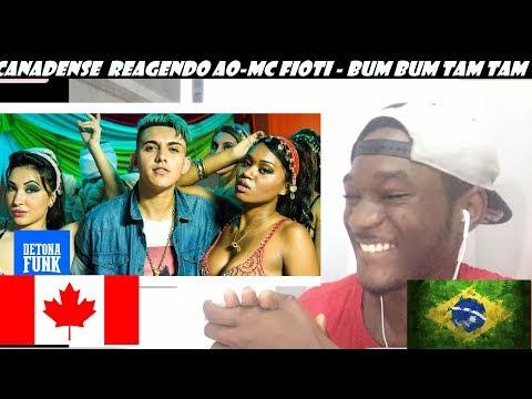 Gringo reagindo AO-MC Fioti - Bum Bum Tam Tam (KondZilla)