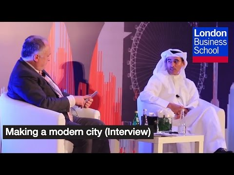 Making a modern city (Interview) | London Business School