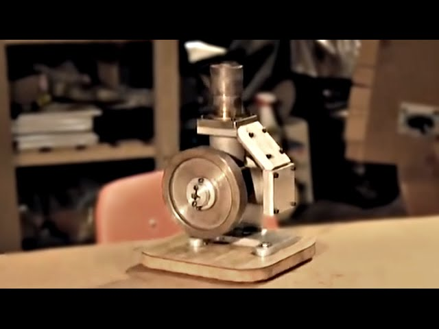 Inside A Stirling Engine Andy Ross Stirling Engine Kit Design Youtube