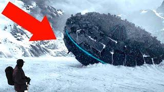 10 Жутких Теорий об Антарктиде, Которые не Дадут Вам Уснуть