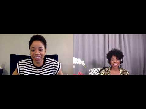 Jacque interviews comedian and vegan Marina Franklin