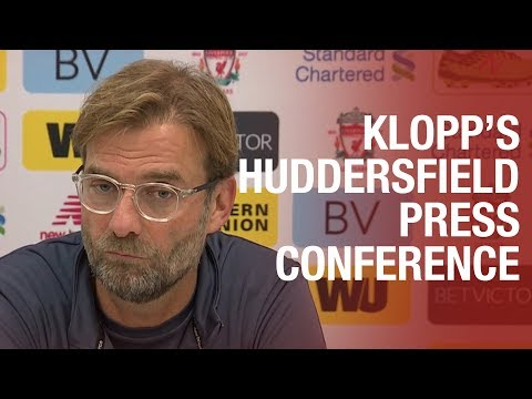 Klopp's pre-Huddersfield press conference | Coutinho's injury, Lovren latest and Woodburn's contract