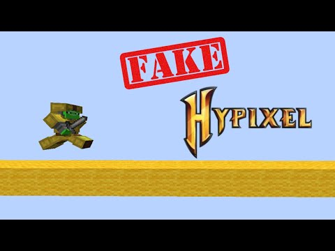 This Fake Hypixel Server is an Exact Replica...