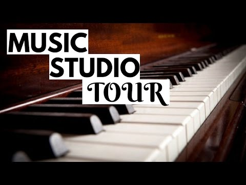 LIFE OF A MUSIC TEACHER // Music Studio Tour | How I Organize My Office