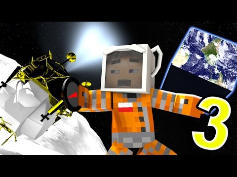 MISSION TO THE MOON 3 - (Minecraft Animation MODS) Roleplay