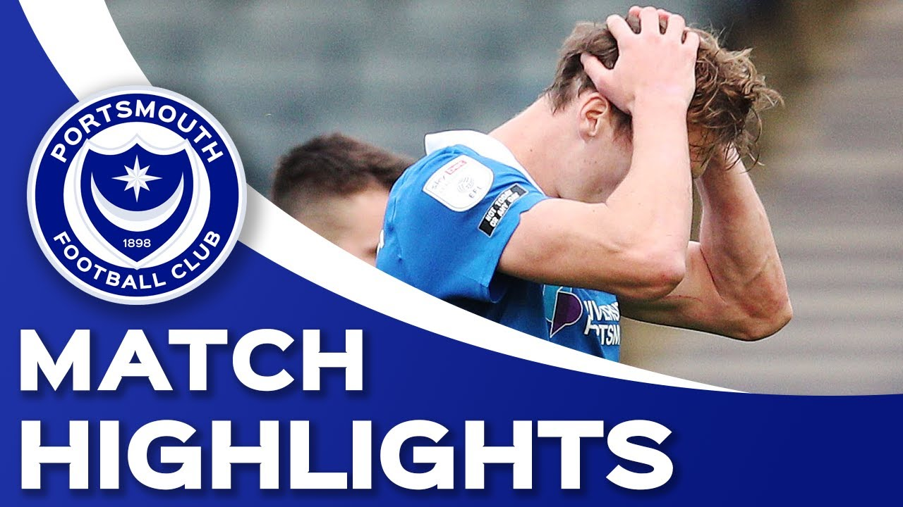 Highlights | Pompey 0-1 Doncaster Rovers