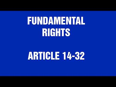 FUNDAMENTAL RIGHTS in English by Success Planner
