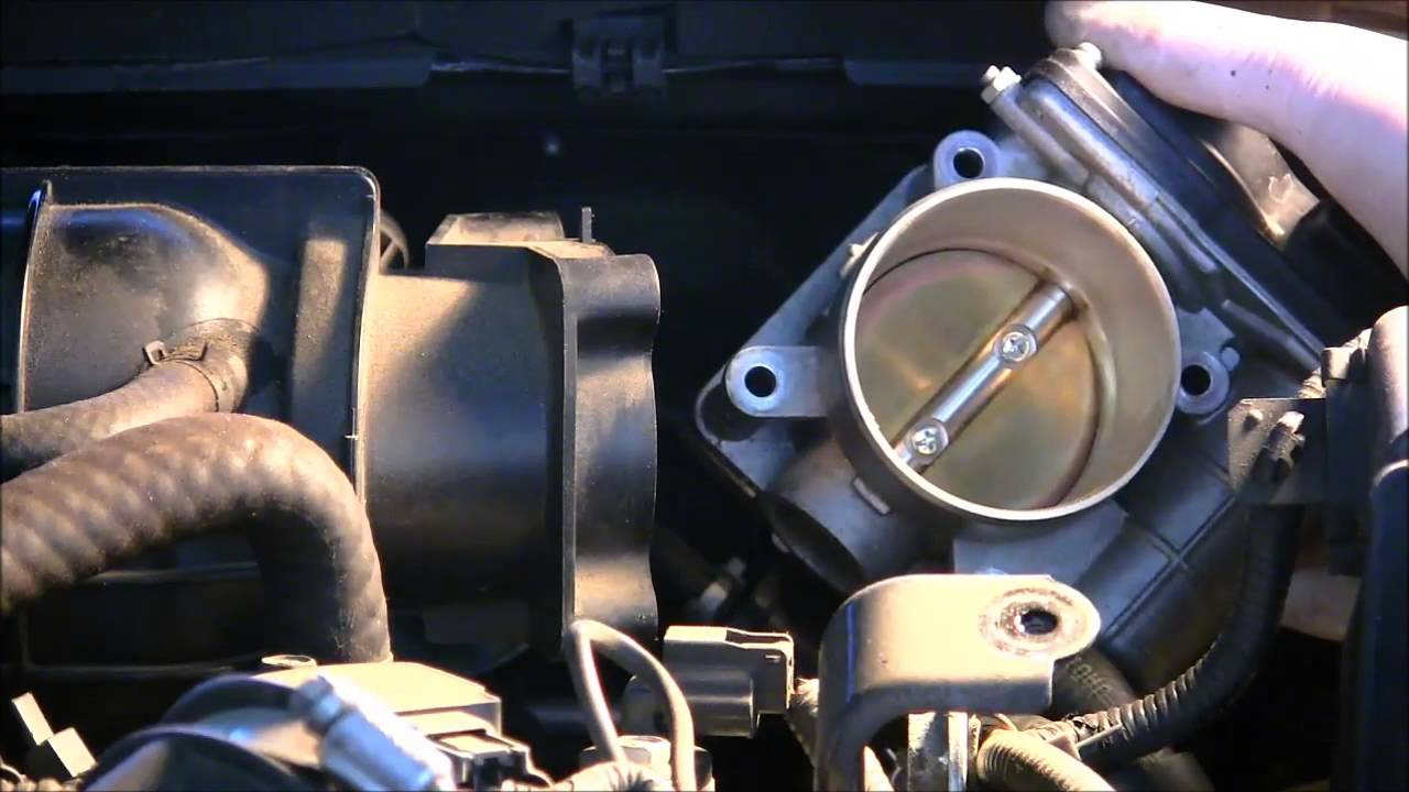 How To Clean The Throttle Body On A 2008 Nissan Altima Youtube Livina Wiring Diagram