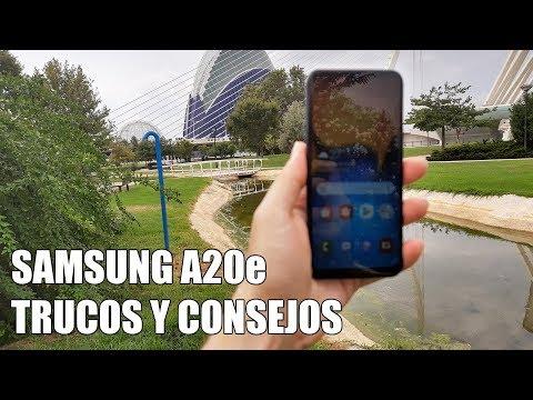 Como sacar maximo partido al Samsung A20e - Trucos y Consejos