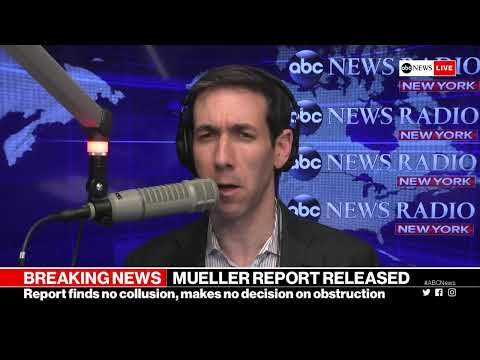 Mueller Report released: Analysis of the redacted report and What it means for Trump | ABC News