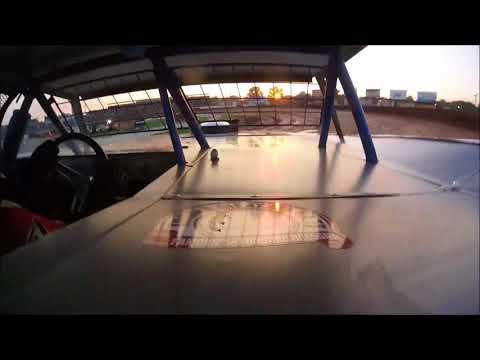 Jason Fosnaught Heat Race Lernerville Speedway 7/13/18 In-Car