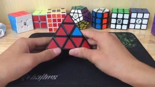 hướng dẫn giải pyraminx dễ hiểu