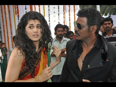 Muni 3 Movie Opening - Lawrence - Taapsee