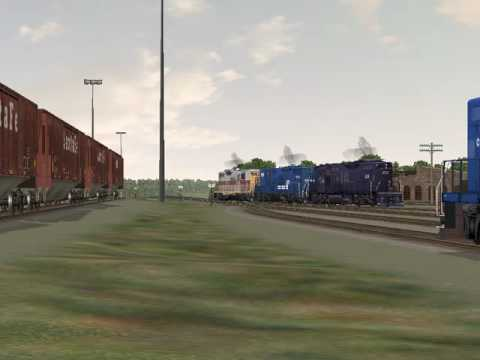 MSTS Conrail on the L&HR - Port Morris, NJ