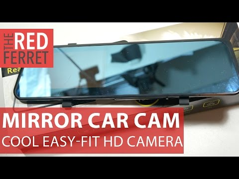 Rearview Mirror  Car Cam - cool budget car dashcam in a mirror Review
