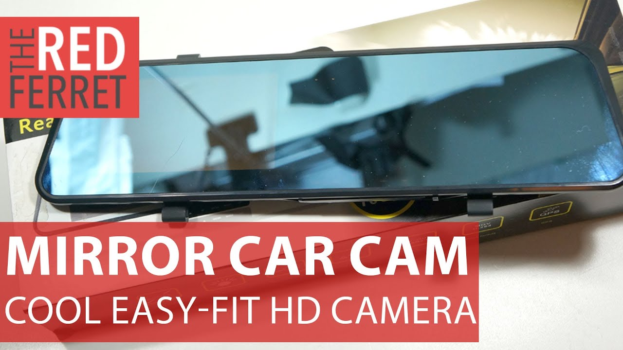 Car rearview mirror mount holder car reviews - Rearview Mirror Hd Car Cam Cool Budget Car Dashcam In A Mirror Review Youtube