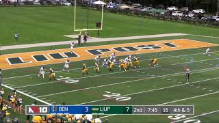 Football Highlights vs. Bentley (Sept. 22, 2018)