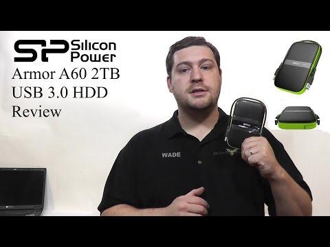 Silicon Power Armor A65 1tb Usb 3 0 External Hard Drive