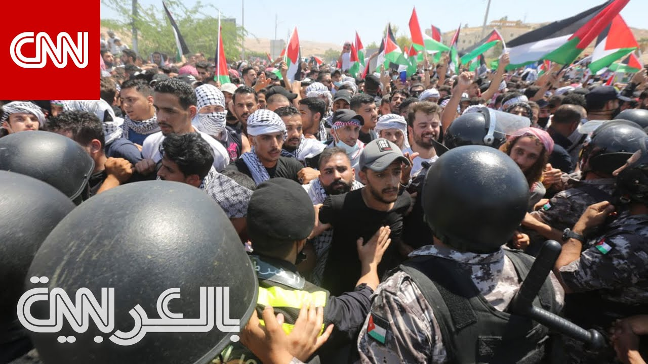 الأردن.. مظاهرات قرب الحدود مع إسرائيل وقرب سفارتها بعمّان  - نشر قبل 3 ساعة