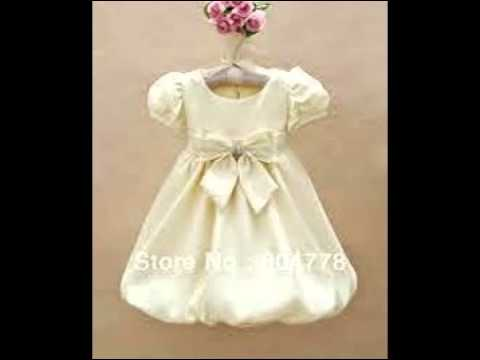 Party Dress For Baby Girl - YouTube