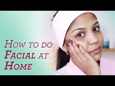 How To Do Facial At Home For Flawless Skin  | SuperPrincessjo