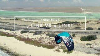 Kiteboarding: 5 Line Vs 4 Line?