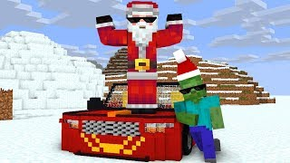 Monster School : SANTA CHRISTMAS - Minecraft Animation